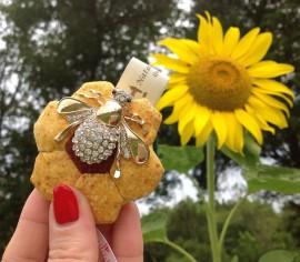Flower Bee Retractable Tape Measure