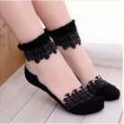 Crystal Lace Ultra thin Transparent  Elastic Short Women Socks 001