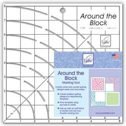 Around the Block Ruler 8